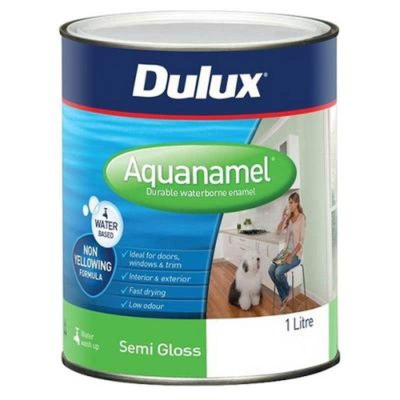 Dulux Aquanamel Semi Gloss Extra Bright Base 1L