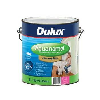 Dulux Aquanamel Semi Gloss Extra Bright Base 4L