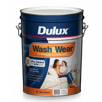 Dulux Wash & Wear Interior Low Sheen Antique White USA 15L