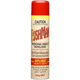 Bushman Ultra Repellent Aerosol 225g