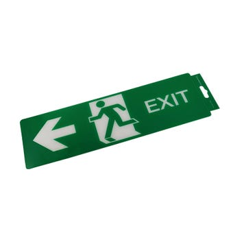 Sandleford Exit Left Self Adhesive Sign