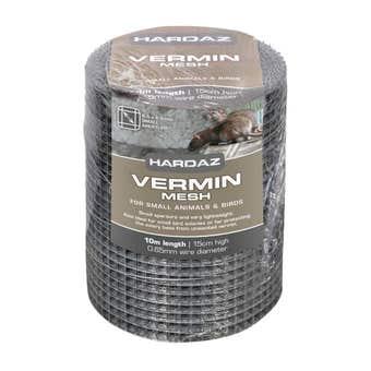 Trio Hardaz Vermin Mesh 15cm x 10M x 0.65mm (6.5x6.5mm)