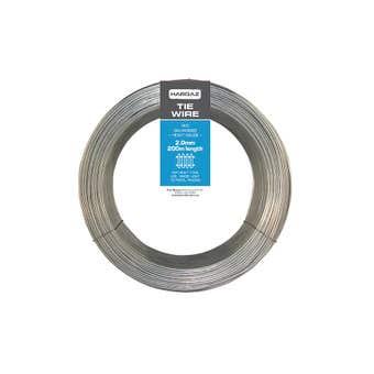Trio Hardaz Tie Wire Galvanised 2.0mm x 200m 5kg