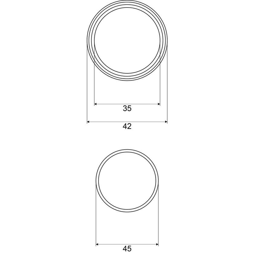 Mildon Replacement Washer Kit Suits 42mm Mixer
