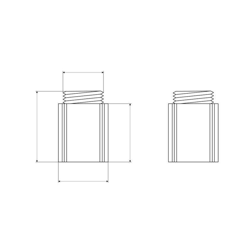 Mildon Barrier Heat Plastic Pair - Suits Wall Bells
