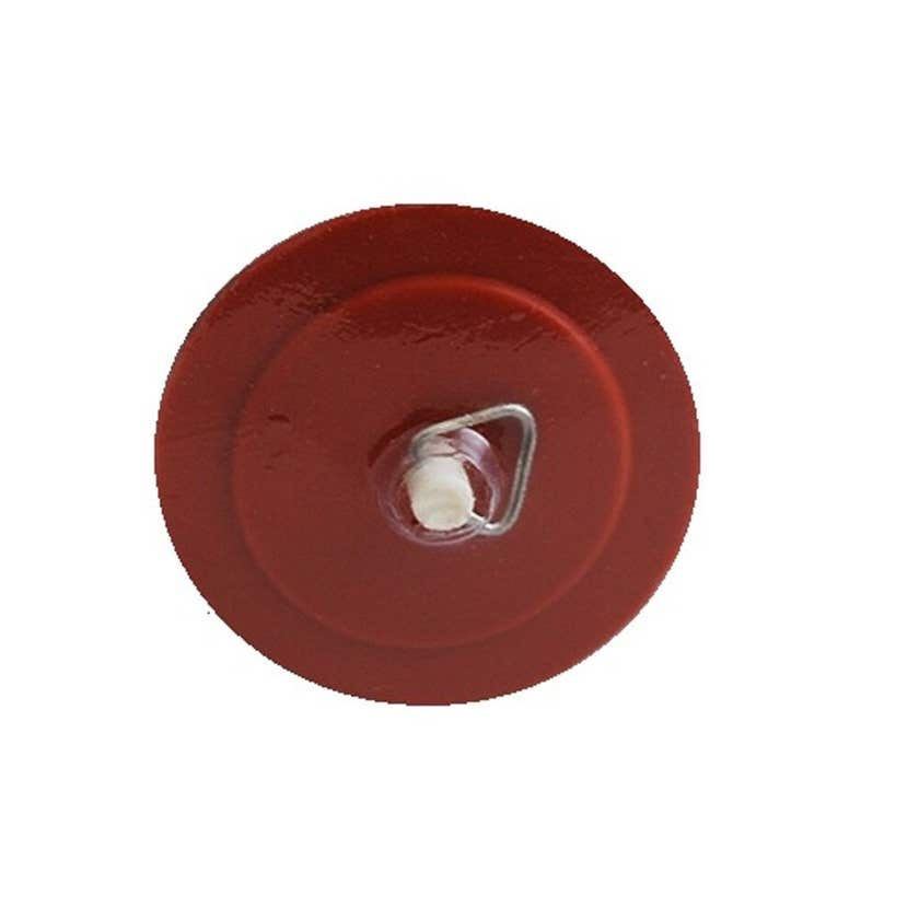 Mildon Red Rubber Plug 56mm Suits Sink