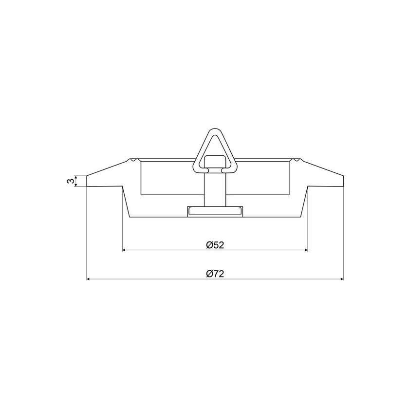 Mildon Multifit Sink Plug