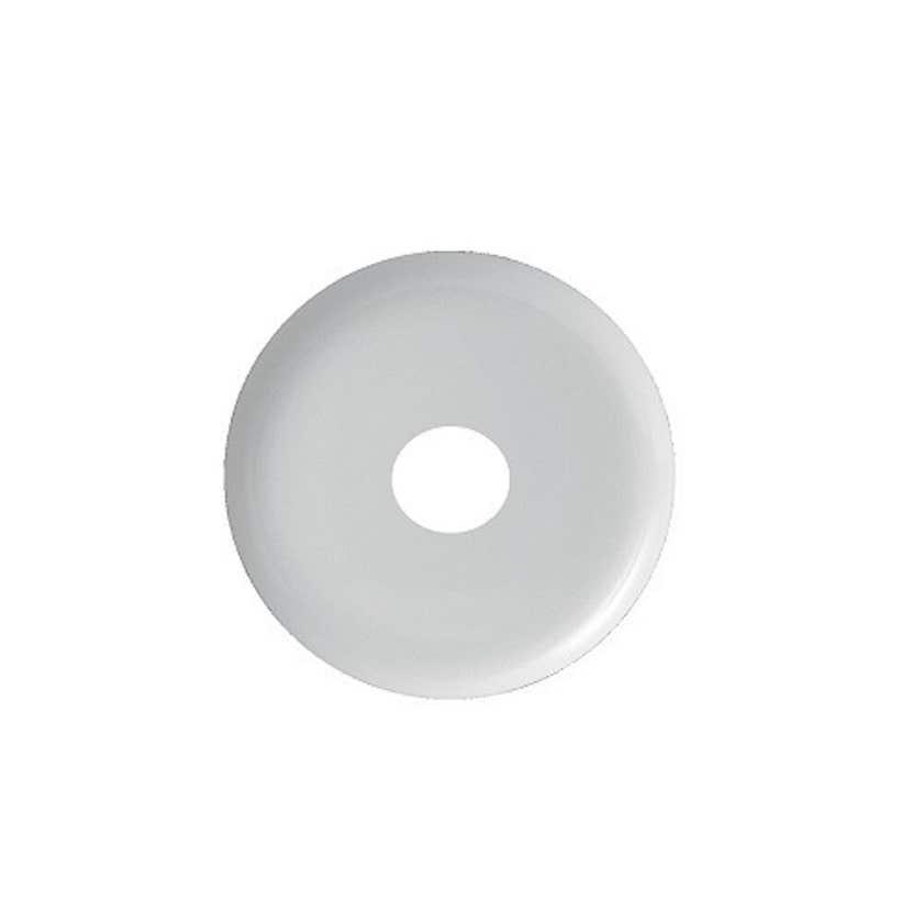 Mildon Plate Cover 15mm BSP 10mm Raise White