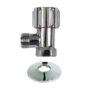 "Mildon Mini Cistern Cock 1/2"" (15mm) Chrome"