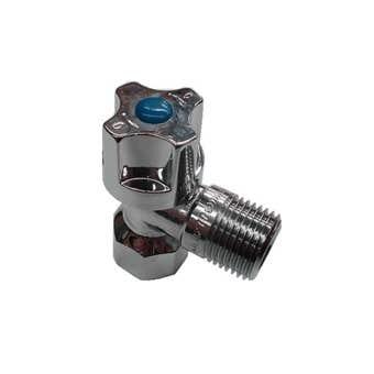 Mildon 1/4 Turn Mini Cistern Cock Chrome - Trade