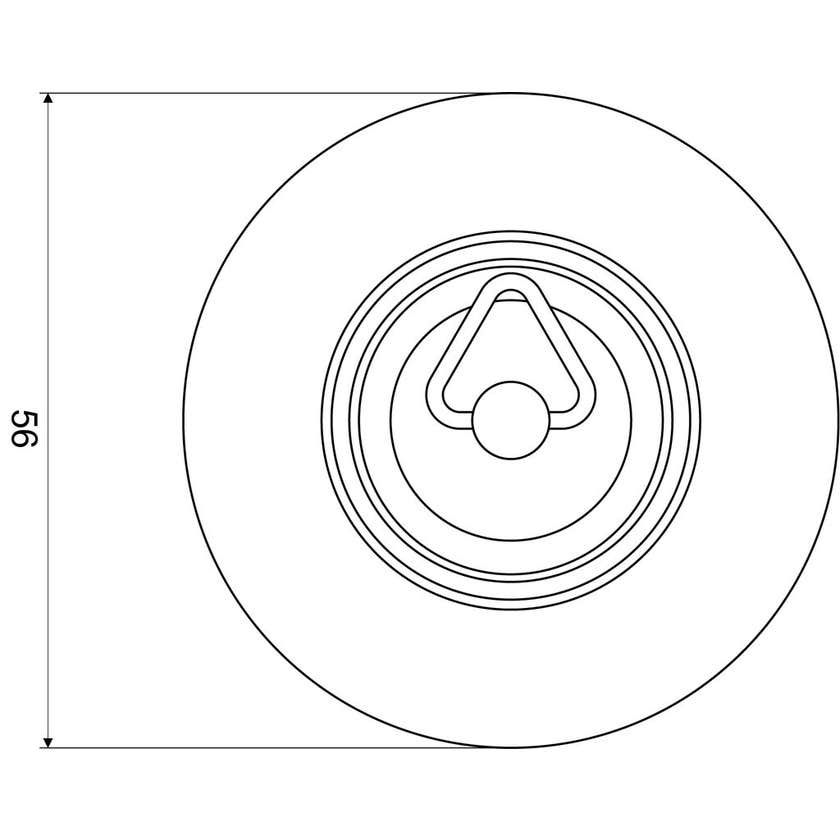 Mildon Rubber Plug 54mm