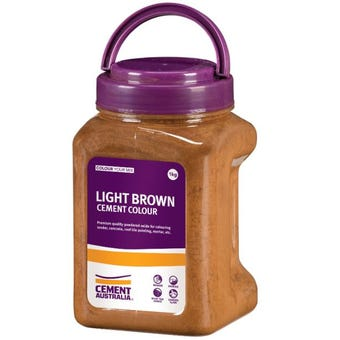 Cement Australia Oxide Colouring Light Brown 1kg