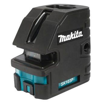Makita Self Levelling Crossline Laser with Plumb Laser
