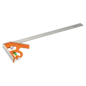 Bahco Sliding Combination Square with Metal Scriber 400 mm