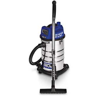 Kincrome 1250W 30L Wet & Dry Vacuum