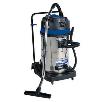 Kincrome Twin 1000W Wet & Dry Workshop Vacuum 80L