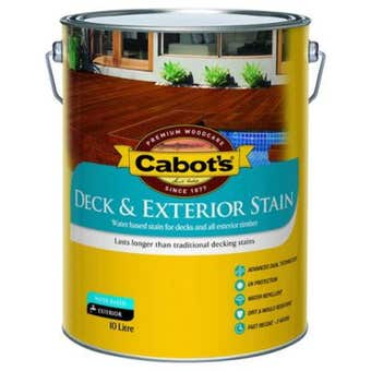 Cabot's Deck & Exterior Stain Water Based
