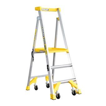 Bailey Aluminium Job Station Platform Ladder 170kg