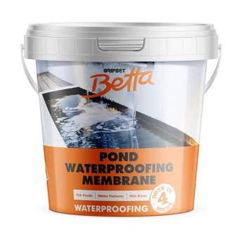 Gripset Betta Waterproofing Pond Sealer Clear 1L