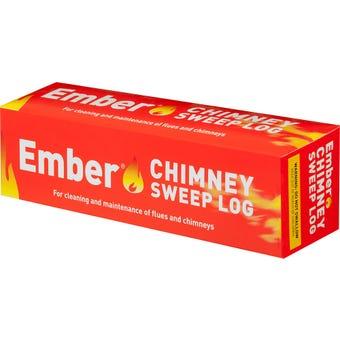 Ember Chimney Sweep Log