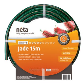 Neta Jade Unfitted Hose 15m x 12mm