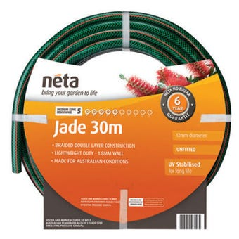 Neta Jade Unfitted Hose 30m x 12mm
