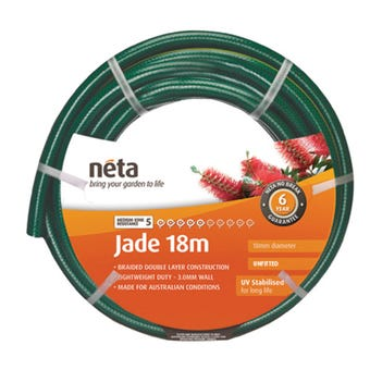 Neta Jade Unfitted Hose 18m x 18mm