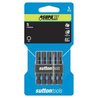 Sutton Tools Impact Screwdriver Bit Square 5 x 50mm