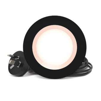 HPM DLI LED Downlight Cool White Black 5W 70mm