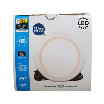 HPM LED Downlight 7W 125mm Cool White