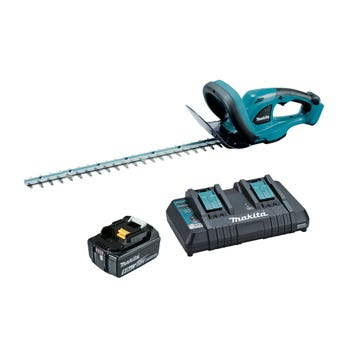 Makita 18V 5.0Ah Hedge Trimmer 520mm Kit DUH523PT