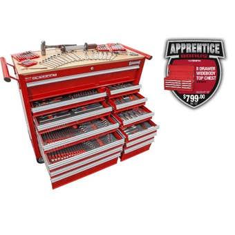 Sidchrome Tool Kit - 372 Piece