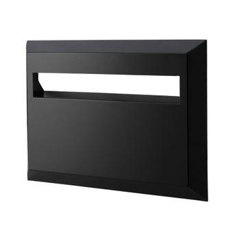 Sandleford Eclipse Rear Opening Letterbox Black