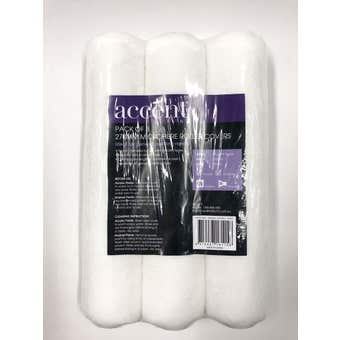 Accent Microfibre Roller Cover 3 Pack 270mm
