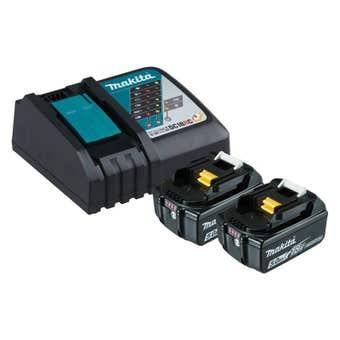 Makita 18V 5.0Ah Li-Ion Charger & Battery Combo