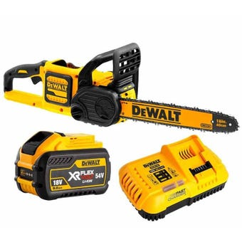 DeWALT 54V XR FlexVolt Chainsaw 9.0Ah Kit
