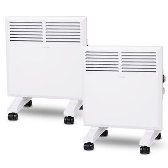 Goldair Panel Heater 1000W - 2 Pack