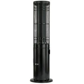 Column Patio Heater Black