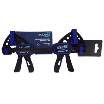 Eclipse One Handed Bar Clamp Mini 150mm - 2 Pack