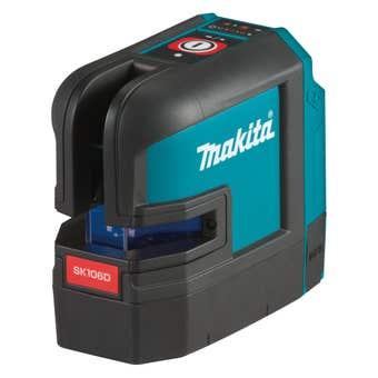 Makita 12V Max Red 4 Point Crossline Laser SK106DZ