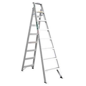 Bailey Trade Aluminium Dual Purpose Ladder 2.4m 150kg Industrial