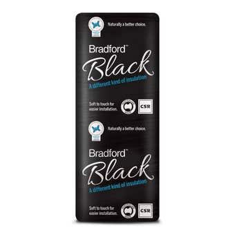 Bradford Black R3.0 Insulation Ceiling Batts 1160 x 430mm Pack 16