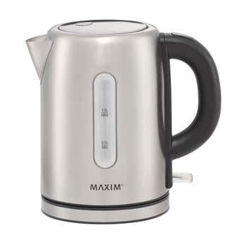 Maxim Kitchen Pro Kettle Stainless Steel 1.7L