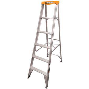 Hurricane™ Dual Punch™ 1.8m Single Sided Ladder 150kg Industrial