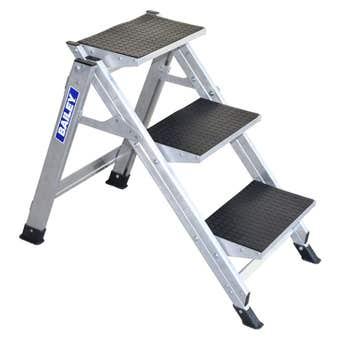 Bailey Stairway 3 Step Ladder 150kg Industrial