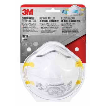3M P2 Sanding Respirators - 2 Pack