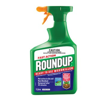Roundup Fast Action Weed Killer Spray 1L