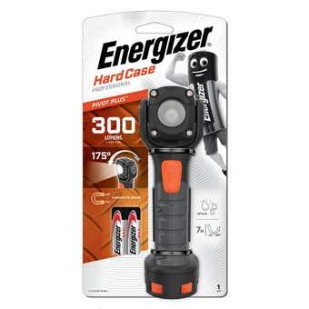 Energizer Hardcase Pivot Plus Torch 300 Lumens