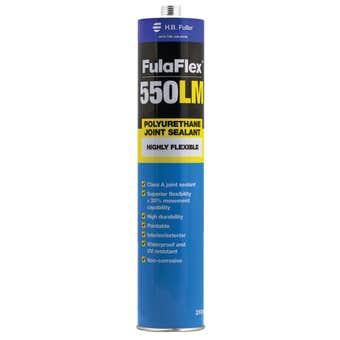 H.B. Fuller FulaFlex 550LM PU Joint Silicone Sealant White 310ml