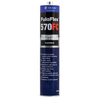 HB Fuller FulaFlex 570FC PU Silicone White 310ml